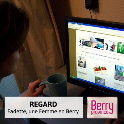 Découvrez le portrait de Fadette, ambassadrice du Berry grâce au forum des Femmes en Berry !