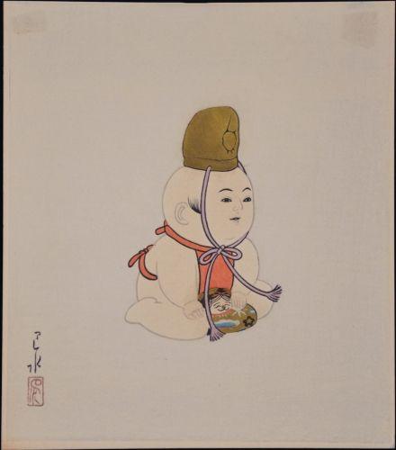 1935 - Hasui, Kawase - Gosho - Ningyo #10