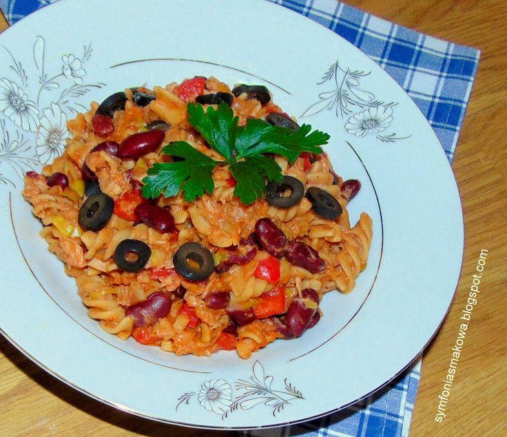 SYMFONIA SMAKOWA   blog kulinarny: Makaron z tuńczykiem.