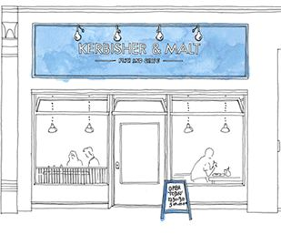 It just happened to be the local Fish & Chips and it has been voted London's Finest Fish & Chips! A must try if you are around.
