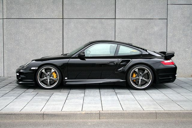 Number 5 of the cars I should have owned. Probably will one day. In Black, of course. Porsche 911 Turbo