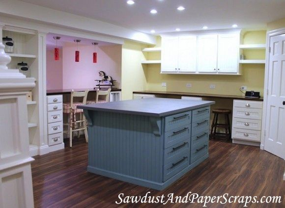 1493 best images about sewing room decorating ideas on pinterest quilting room cutting tables and sewing spaces - Sewing Room Design Ideas