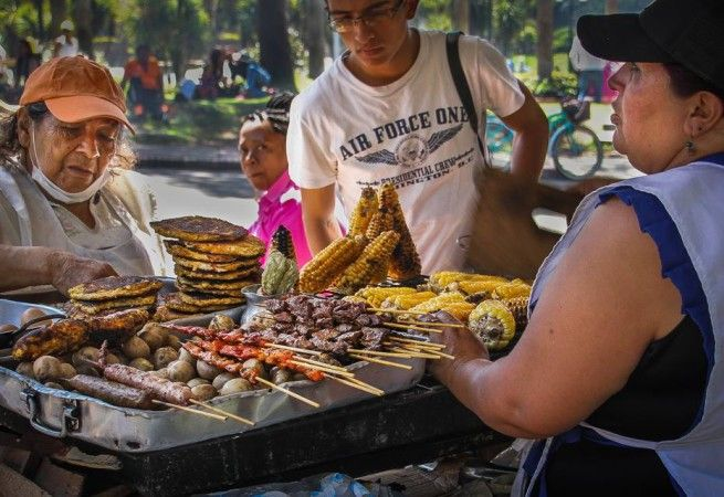 Colombia is the happiest country in the world according to the 2013 and the 2014 Barometer of Happiness and Hope. (Source: Colombia Reports, 2014)  Its not surprising since there is so much good food there. Especially where you least expect it. Colombian street food is among the best in the world, such as arepas, empanadas and obleas. Some of the most popular of Colombian food around the world, not just from there.