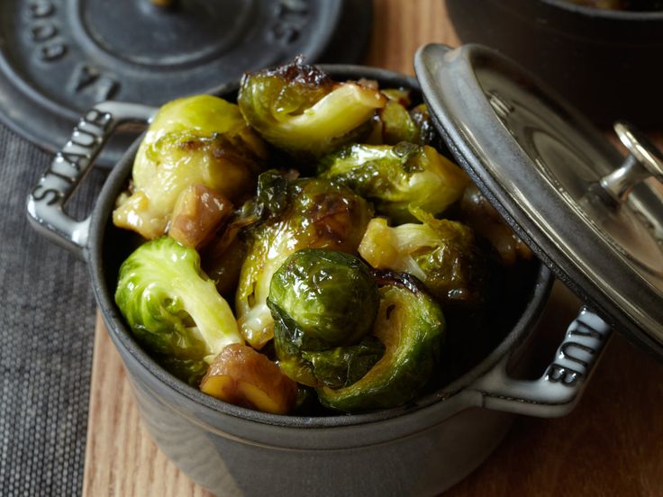 Maple-Roasted Brussels Sprouts | Food & Wine goes way beyond mere eating and drinking. We're on a mission to find the most exciting places, new experiences, emerging trends and sensations.