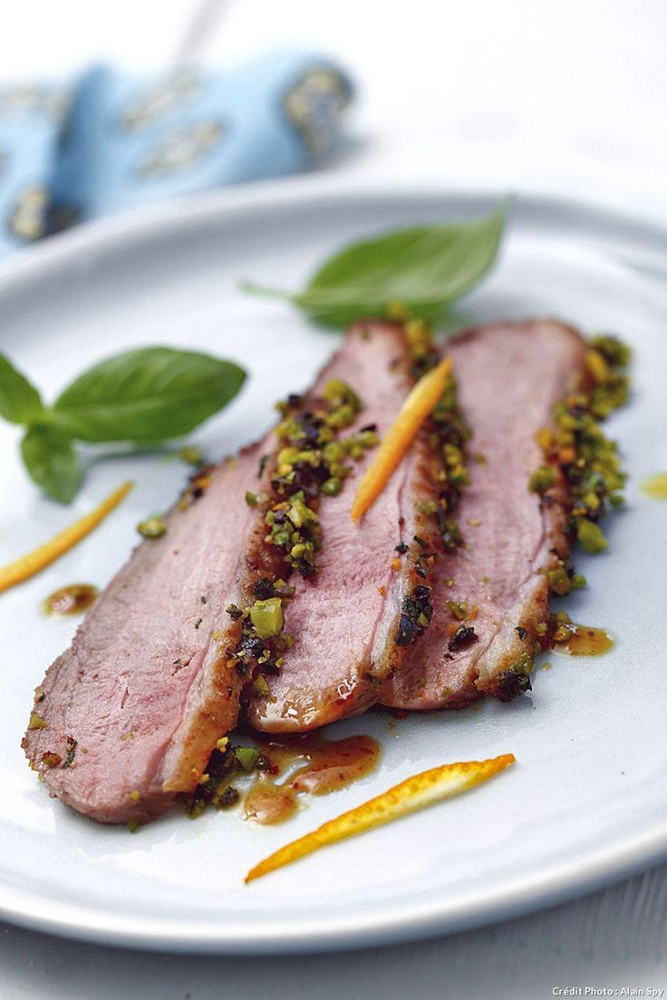 filets de canard en cro te d olives recipe parfait. Black Bedroom Furniture Sets. Home Design Ideas