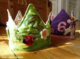 Geburtstagskrone nähen, Krone, König / Königin / Prinzessin