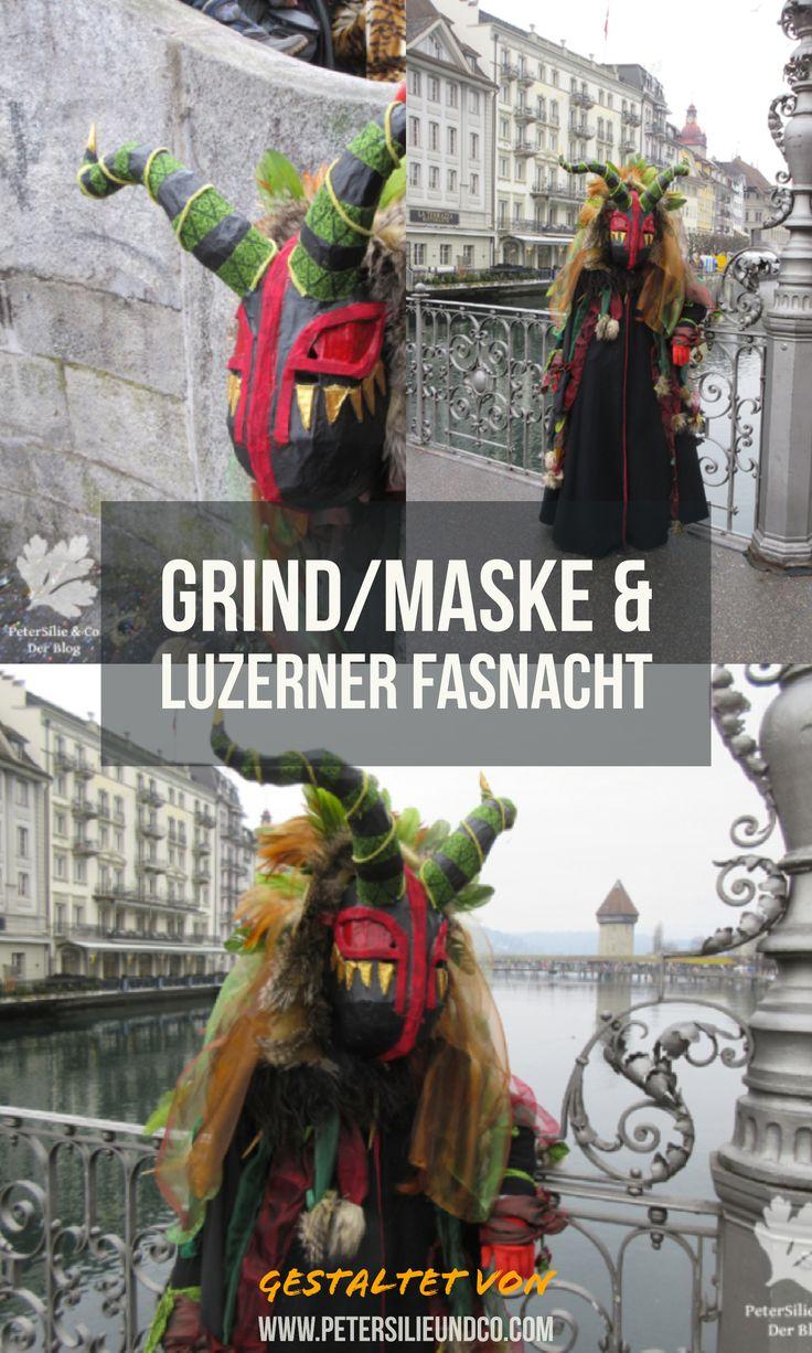 Grind/Maske/Sujet für die Luzerner Fasnacht 2018 mit Bericht und vielen Inspirationen #karneval #fasching #schweiz #diy #kostüm #carneval #stoffeausallerwelt