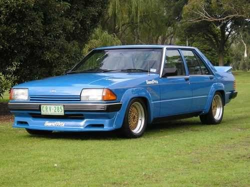 Blue DJR Grand Prix Turbo Ford Falcon