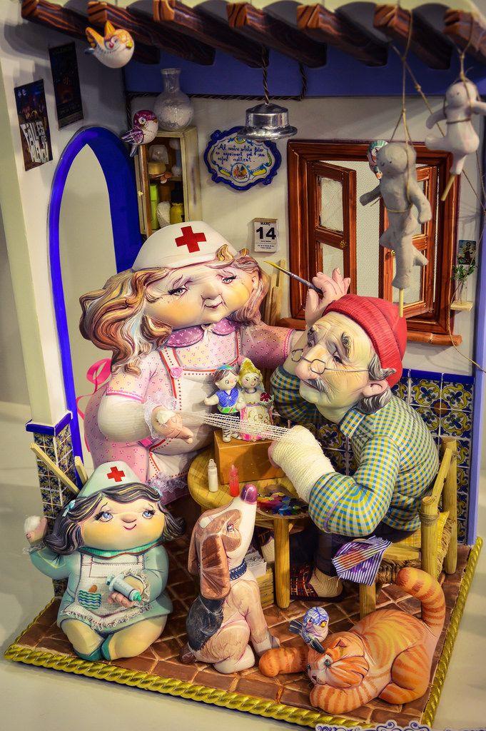 Exposición del Ninot 2.017 (Valencia - Spain)