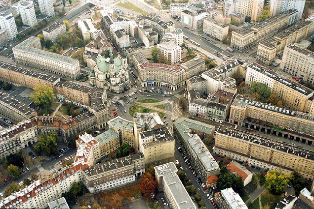 Plac Zbawiciela Warszawa