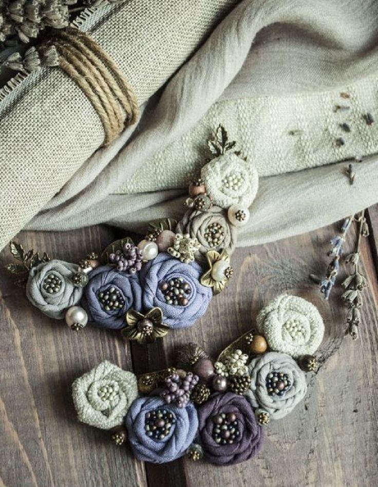Cómo hacer flores de tela.