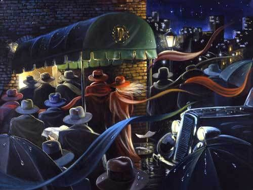 Artify Collections - Hand Painted High City Life Oil Painting Number 039, $71.68 (http://artifycollections.com/hand-painted-high-city-life-oil-painting-number-039/)