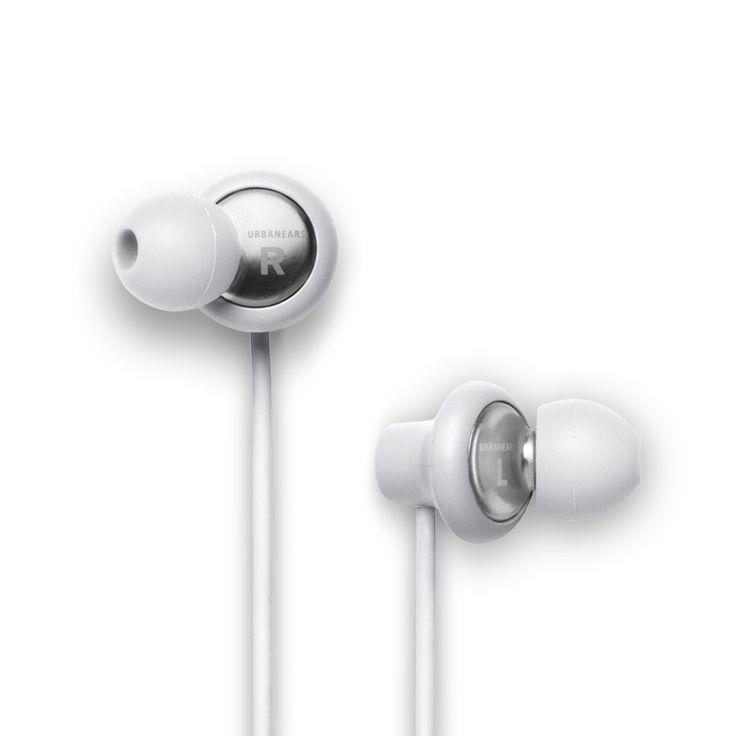 Urbanears Kransen Headphones in White (Permanent color)