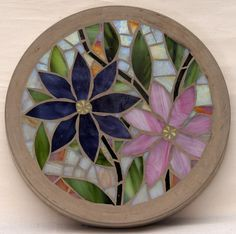 stained glass stepping stones for sale - Google Search