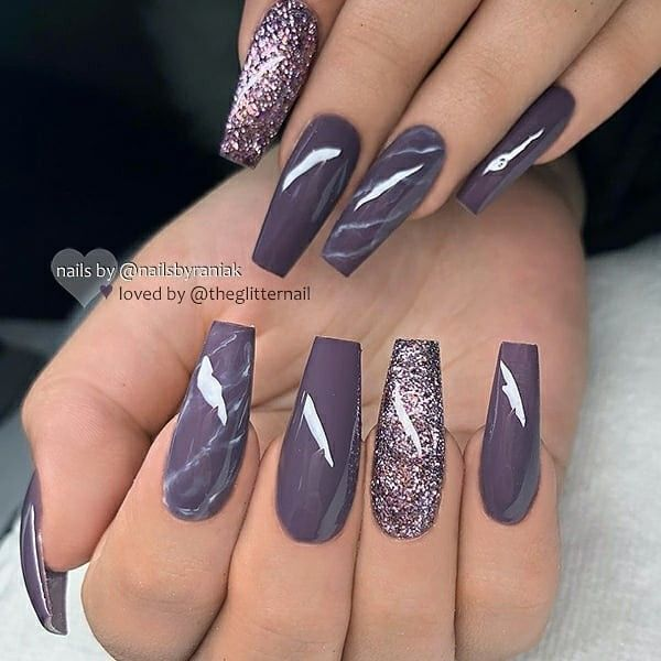 Sneaker Blogger Sherlina Nym S Collection Of Designer Sneakers Bags Purple Glitter Nails Nail Designs Coffin Nails Designs