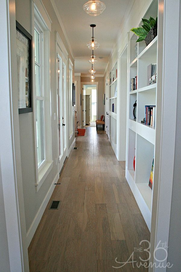 Love This Hallway With Those Lights Home Decor And