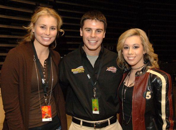 Niki Taylor NASCAR Driver Burney Lamar and Erika Jo