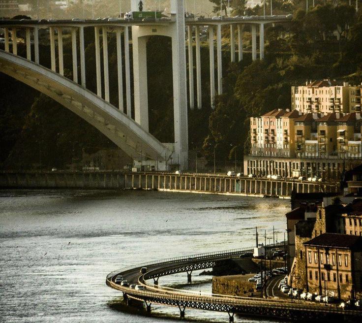 Uma visão única da Cidade do Porto...