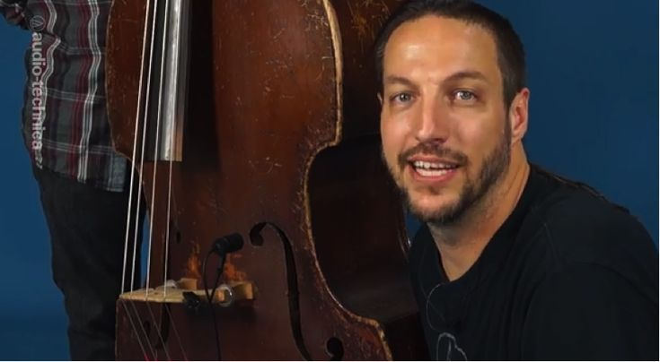 From the A-T blog: 2 Easy Tips for Recording Upright Bass