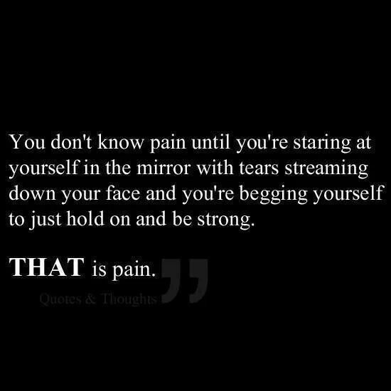 Sad Quotes About Depression: 1000+ Images About Depression And Pain On Pinterest