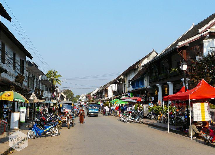 Al waren de eerste Europese ontdekkingsreizigers nog zo uitgeput toen ze vanuit de zuidelijke Mekong Delta Luang Prabang bereikten, zelfs de grootste chagrijn in de groep was het erover eens: dit was nog eens een charmante en aantrekkelijke stad.  Photo: Luang Prabang, Laos
