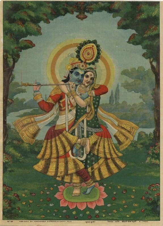 Krishna, Radha. Collection of Mark Baron and Elise Boisante, Om India.