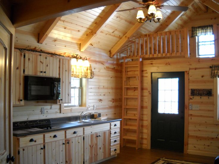 Small Log Cabin Homes Sale