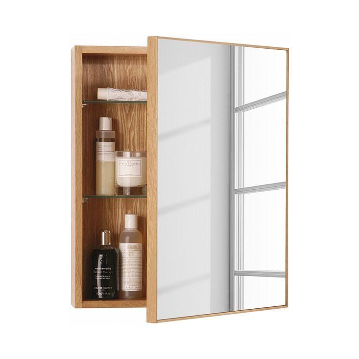 Spiegelschrank Slimline Eiche Slimline Spiegelschrank Idee Salle De Bain Armoire De Toilette Armoire Avec Miroir