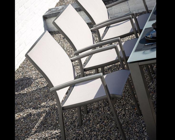 Axel Diningset combiblack aluminium !   Buitenhof