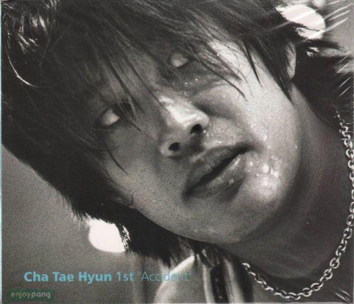 Cha Taehyun / 1st Album CD - Accident / released in 2001 / Rare Item