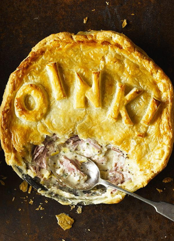 This is a delicious, warming pie. If you want to skip cooking the ham hocks, some butchers and supermarkets sell them ready-cooked at the deli counter.
