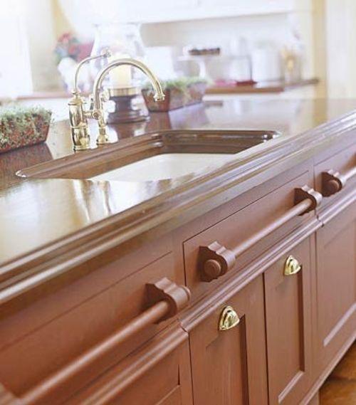 küchenarbeitsplatte aus holz – die küche mit