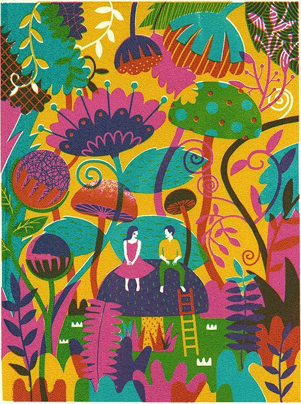 Screen print 2013 on Illustration Served