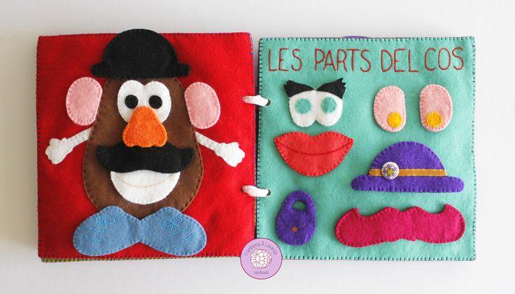 #libro #sensorial #actividades #fieltro #telas #fabrics #velcro #juegos #niños #infantil #bebe #baby #handmade #hechoamano