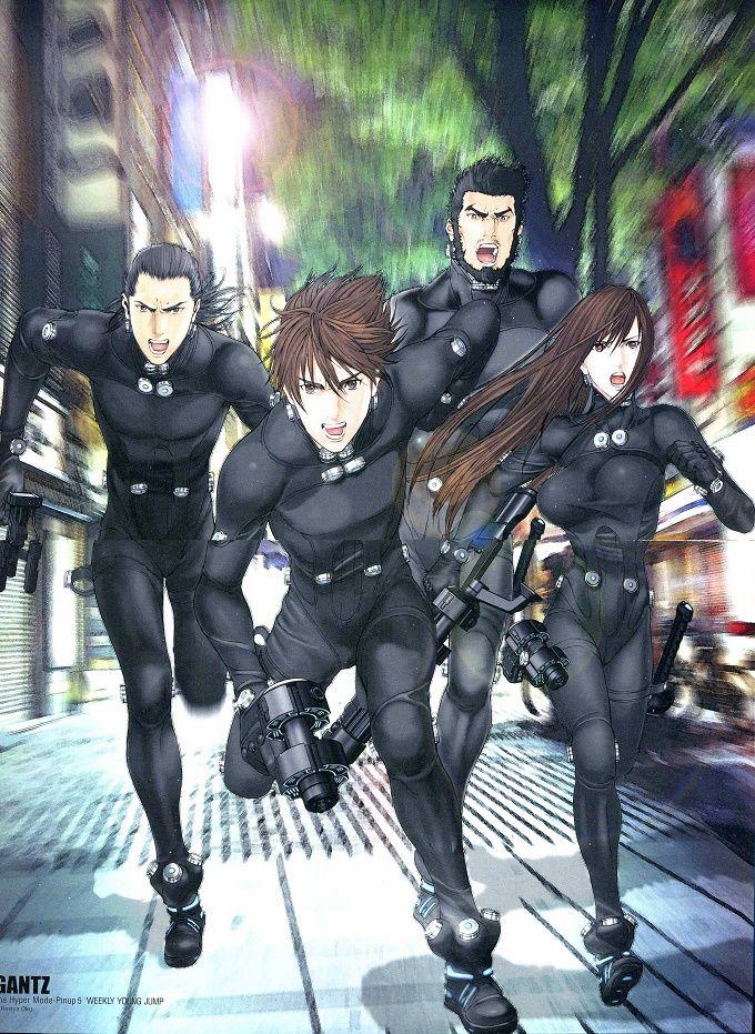 El Manga Gantz de Hiroya Oku tendrá una película de Anime 'totalmente en 3DCG' en 2016.