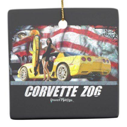 2004 Corvette Z06 Ceramic Ornament - antique gifts stylish cool diy custom