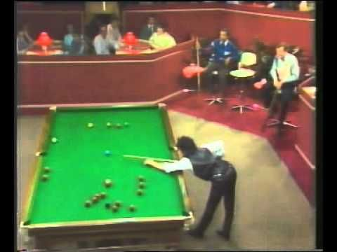 Sexy Snooker - 80's TV Siren Suzanne Danielle with Steve Davis - YouTube
