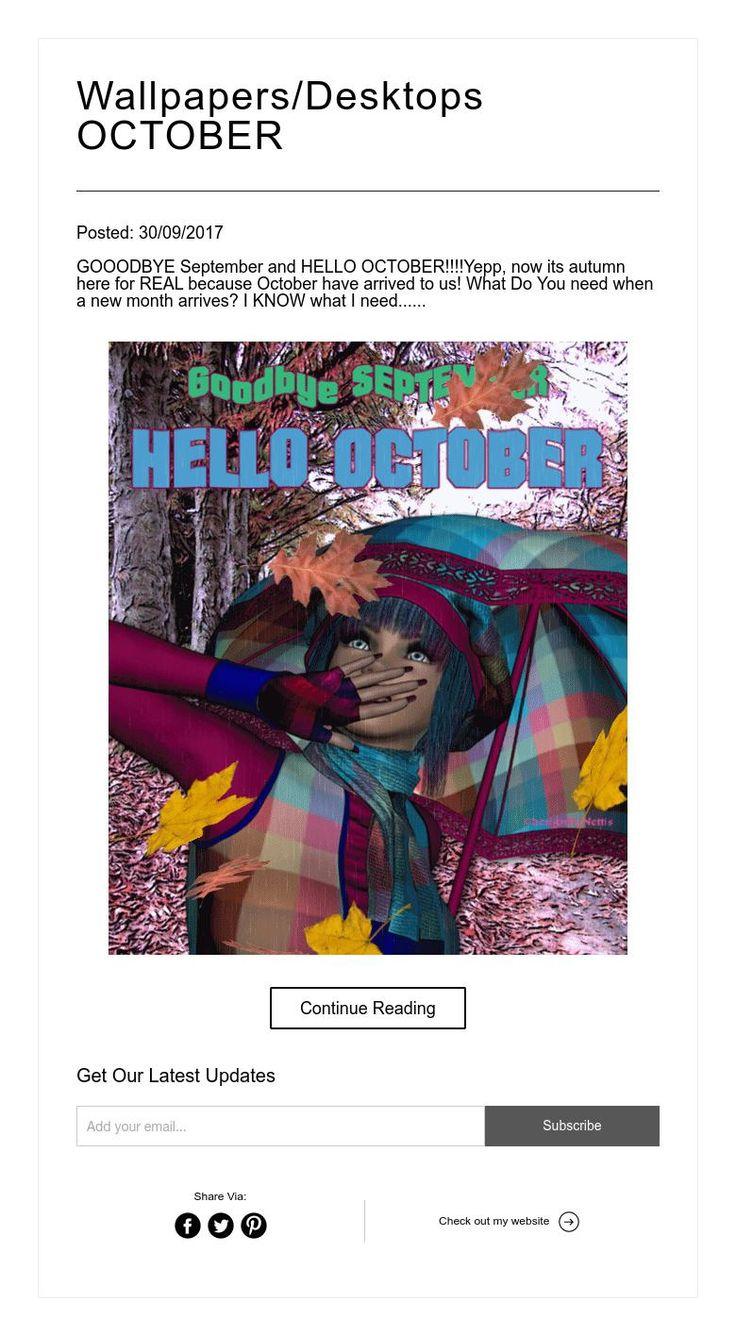 Wallpapers/Desktops OCTOBER