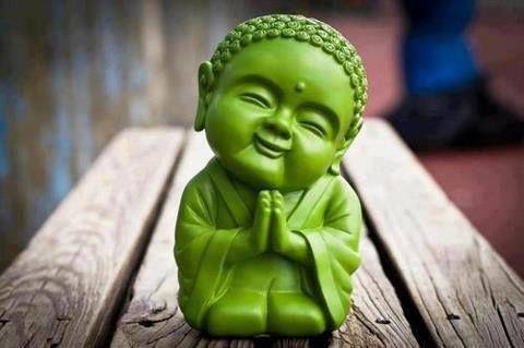 Petit Bouddha porte Bonheur