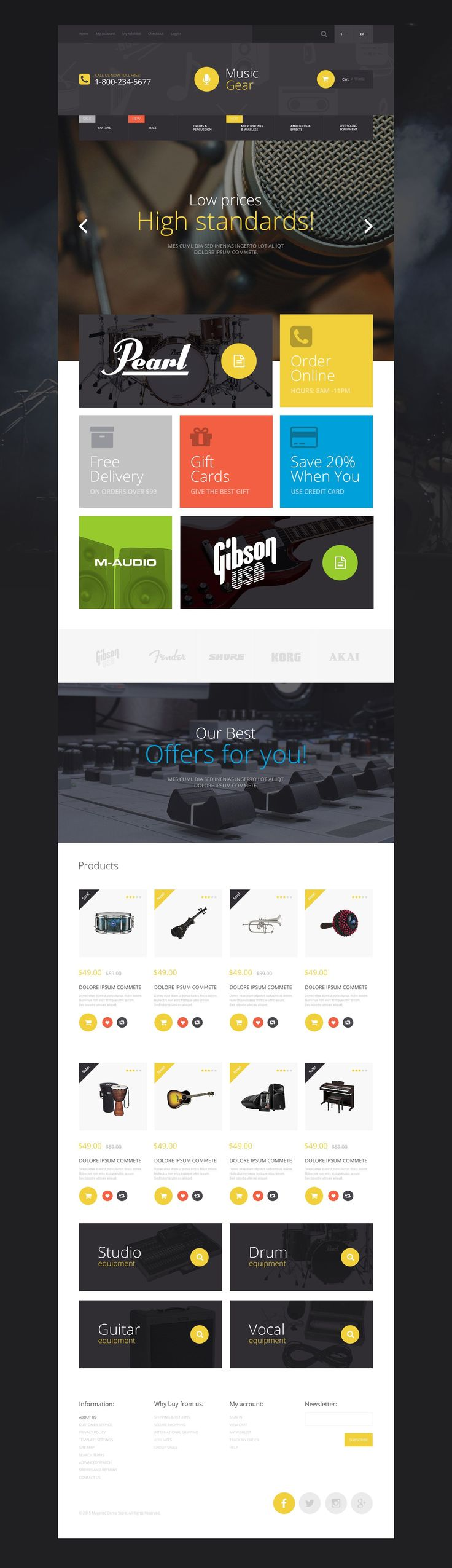 541 best Webdesign images – Timeline Website Template