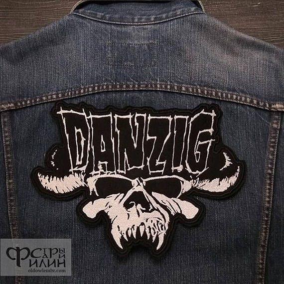 Big Back Patch Danzig doom metal blues rock band