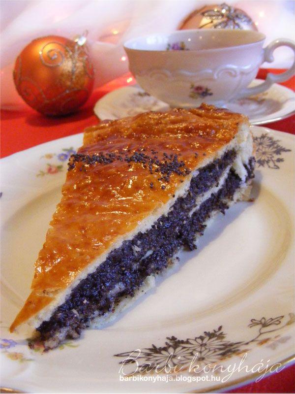 Barbi konyhája: Bejgli pite - Boldog Karácsonyt!!! ♥