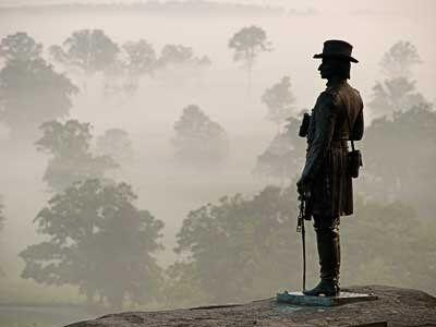 Gettysburg has plenty of spooky potential.