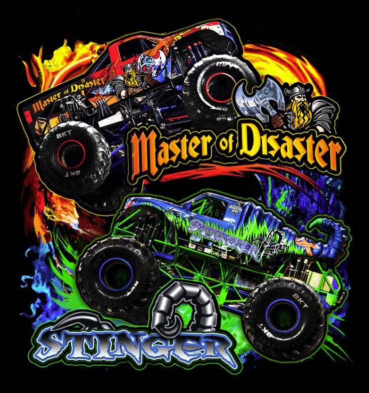 8 Best Monster Truck Designs Art Images On Pinterest