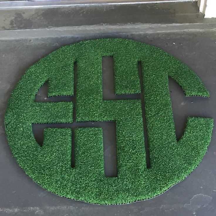 Indoor & Outdoor Monogram Doormat