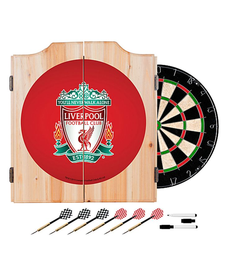 Another great find on #zulily! Liverpool Dart Cabinet Set by Trademark Global #zulilyfinds
