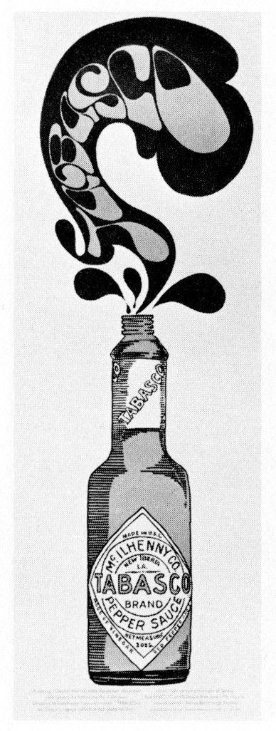 Tabasco poster by Merrick Gagliano (1968)
