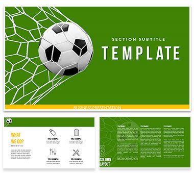 399 best Keynote Templates - Themes images on Pinterest Keynote - football powerpoint template