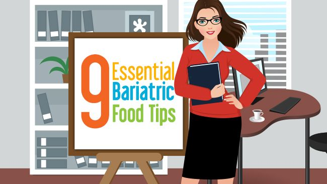 9 Essential Bariatric Food Tips. We live and die by the pouch. Here are a few pouch rules!