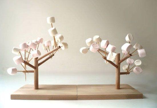 Food trees - fruit, not marshmallows!